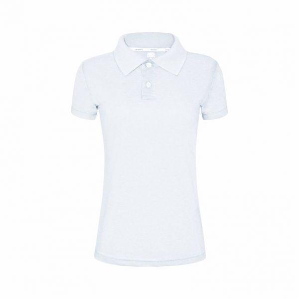 Camisa Polo Feminina Branca