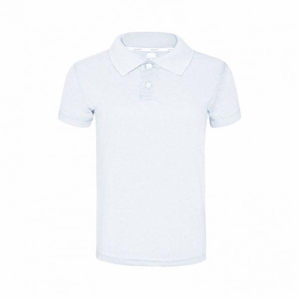 Camisa Polo Branca Masculina