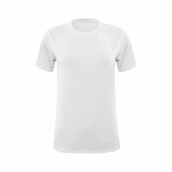 Camiseta Manga Curta Branca Feminina